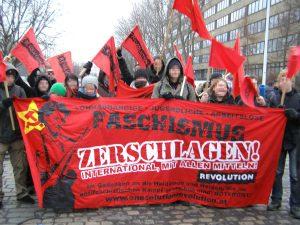 REVOLUTION blockierte in Dresden
