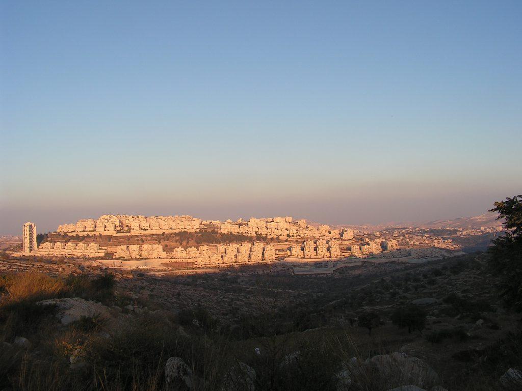 israelische Siedlung in der besetzten Westbank