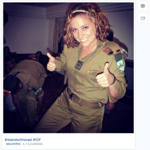 """Soldaten in der israelischen Armee posten """"stylische"""" Bilder auf Instagram von ihren Einsatz"""