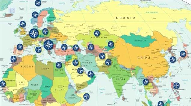 NATO-Russland-Schach