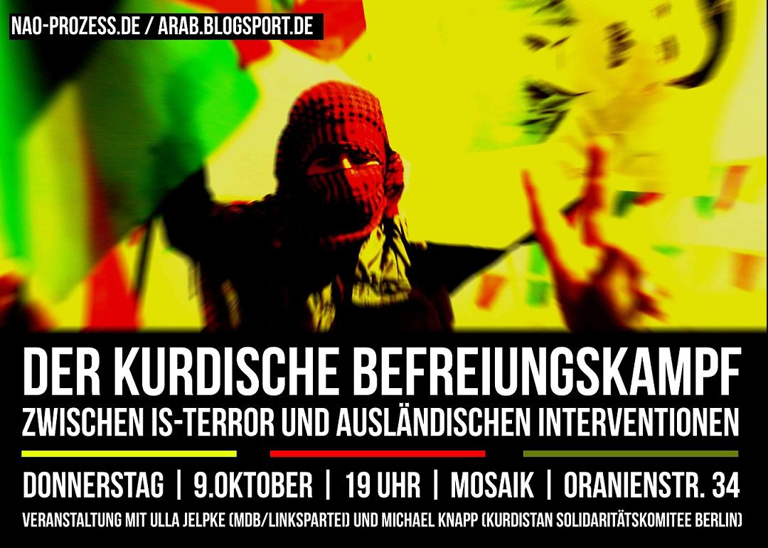 Offene DIskussionsveranstaltung der NAO in Berlin, mit Gästen die wir zum Bericht und zur Debatte einladen.