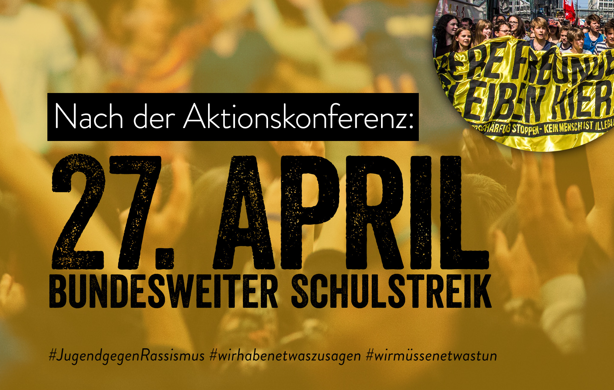 Schulstreik 27.April