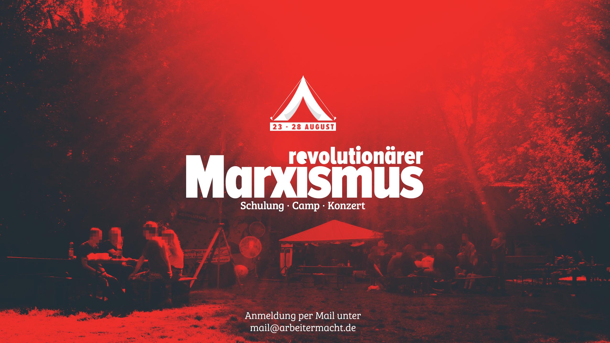 Revolutionärer Marxismus Banner