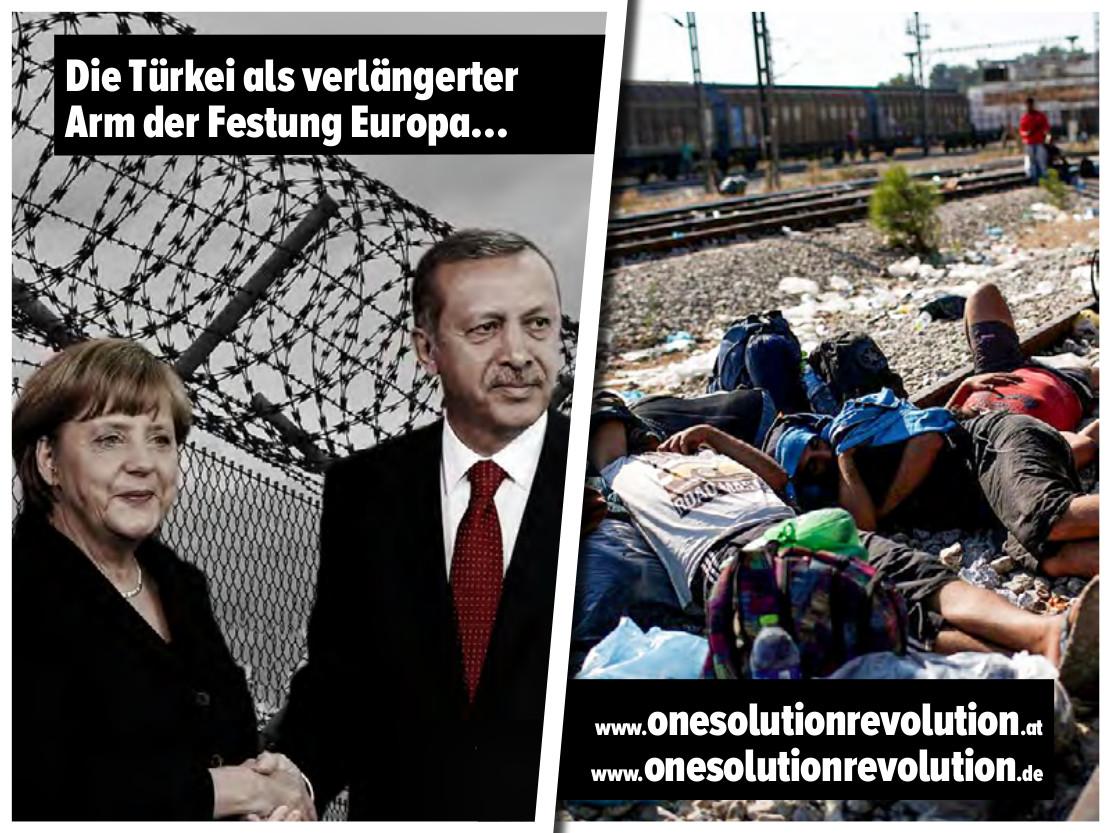 Türkei als der verlängerte Arm der Festung Europa
